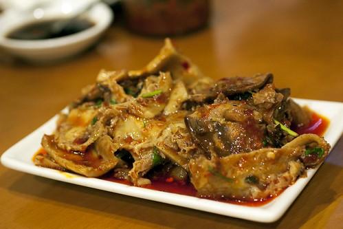 spicy beef & tripe @ nan xiang