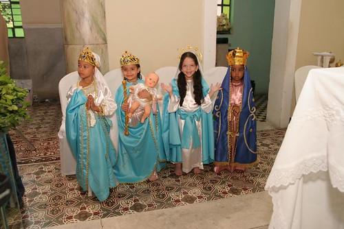 Nossa Senhora da Conceição, Auxiliadora, das Graças e Aparecida