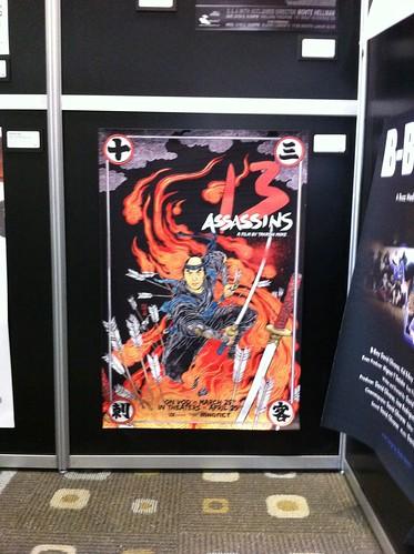 Poster for 13 Assassins