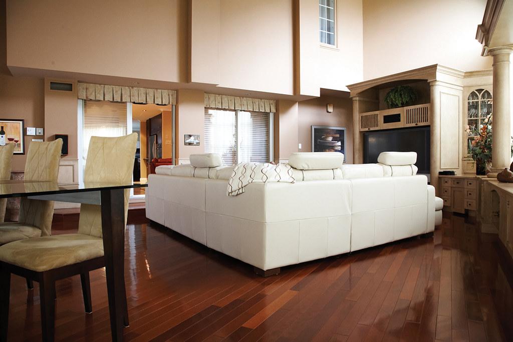Jatoba is also know as Brazilian Cherry Hardwood Flooring