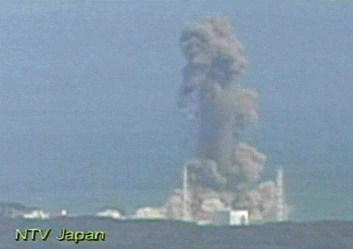 A clip from National Television in Japan showing the fire at a nuclear power plant that was damaged during the earthquake and tsunami in March 2011. The accident has spark concern around the world.  by Pan-African News Wire File Photos