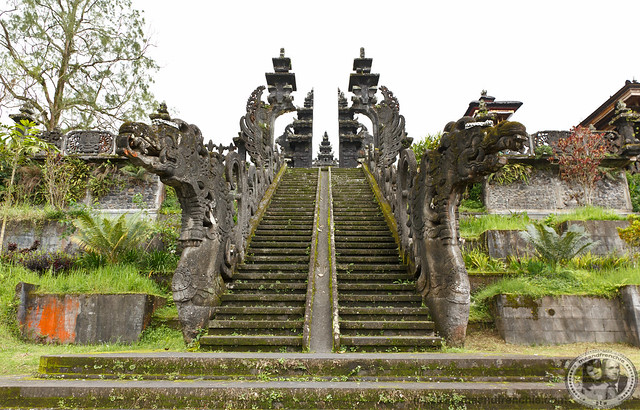 Dragon Stairs To Temple On Hill