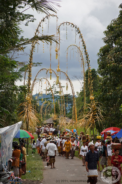 Procession To Temple