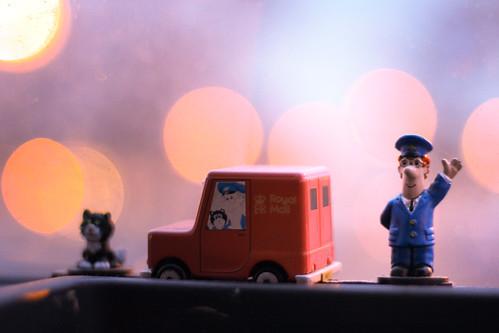 Day 151: 16/03/11: Postman Pat by Em Wall