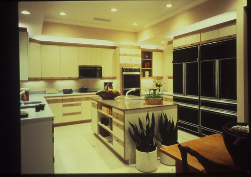 The 1987 New American Home: kitchen