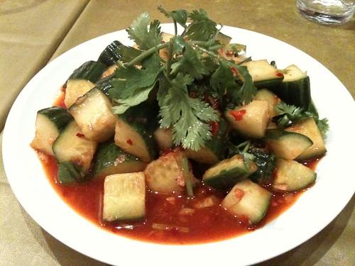Q-Tea: Salade de concombres