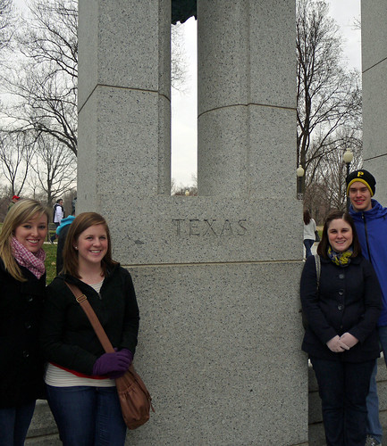 Texas WWII Monument