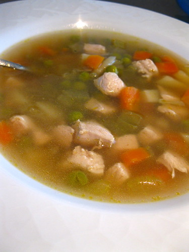 Easy Peasy Chicken Soup
