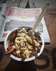 Lunch (rob.i.am) Tags: toronto cheese gravy queen poutine curds queenstreet heartattack poutinis