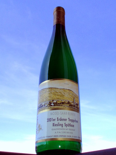 2001 Erdener Treppchen Riesling Spaetlese Weingut Erben Stephan Ehlen