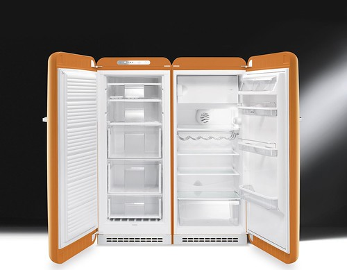 orange fridge colours style 50s 50 coloured kühlschrank refrigerators arancione anni50 50er frigoriferi 50style fab28 congelatoresmeg cvb20 smeg50style kühlschranksmeg smeg50er kühlschrank50er