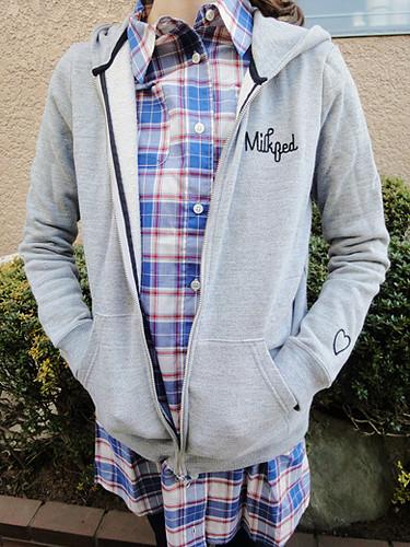 zip hoodie milkfed 1