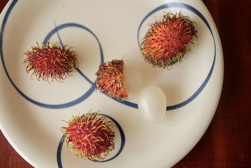 Achotillo, or Rambutan.