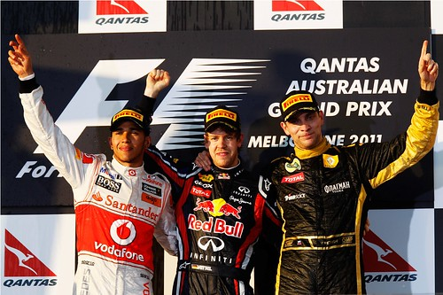 GP Austrália - F1 2011