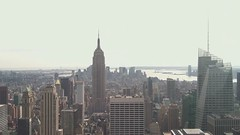 """View from """"Top of the Rock"""" (mynamesdustin) Tags: new york nyc ny building rock nbc view top center rockefeller ge"""
