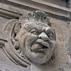 The Monday Face (NRG Photos) Tags: sculpture face gesicht hoteldeville skulptur ugly townhall rathaus gurning arras hsslich fratze mondayface montagsgesicht