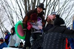 winterfest (wolfsavard) Tags: winter snow jesse emma grace sledding amherst winterfest