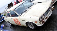 Garage Auto Hero Datsun 510 (The Grace of Function) Tags: auto gardens golden garage tan dirty hero 510 meet lowered datsun nwn 2011
