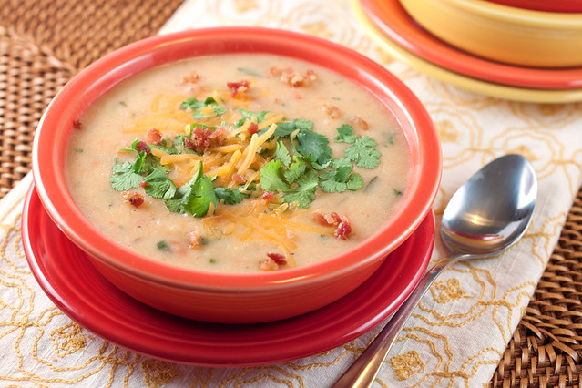 Tex-Mex Potato Soup