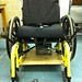 Wheelchair with Baseboard