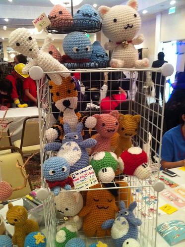 Craft Booth Setup - Anime Conji 2011