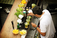 Mixing cocktails (feradz) Tags: summer bar cafe mojito caipirinha barman coktail