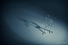 90/365 In the Spotlight (JeremyHall) Tags: wire spotlight figure 365 emotive snoot