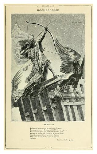002a-Nemrod-El fin de Satan-Cent dessins  extraits des oeuvres de Victor Hugo  album specimen (1800)
