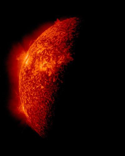 SDO Sees Spring Eclipse, April 2