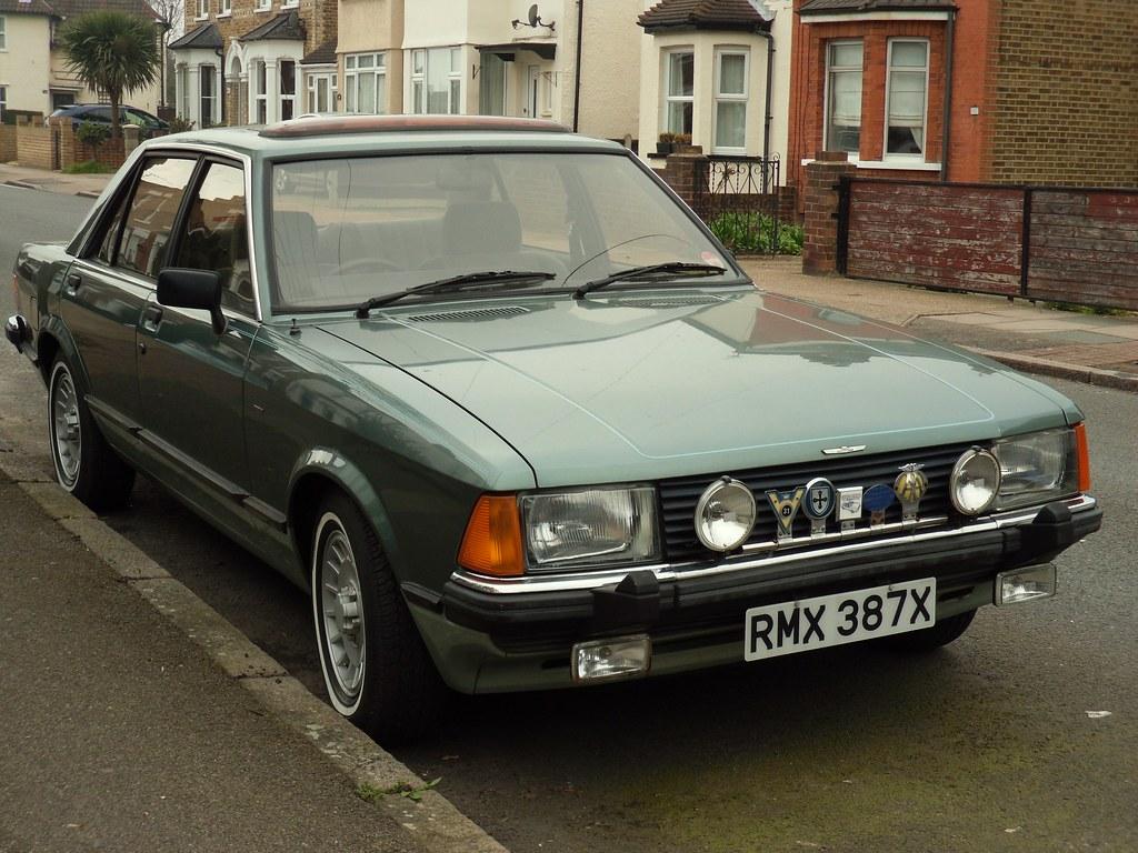 1981 Ford Granada 2.3 Consort Saloon. (bramm77) Tags: uk green london ford. Ford  Granada MK2 Trip Computer Manual ...