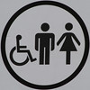 Restooms (Leo Reynolds) Tags: squaredcircle signinformation signcircle wheelchair signrestroom sqcardiff canon eos 7d 0002sec f67 iso200 300mm sqset062 xleol30x hpexif sign xx2011xx