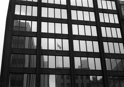 Patriotic reflection, Albany NY
