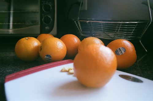 oranges for crostatas