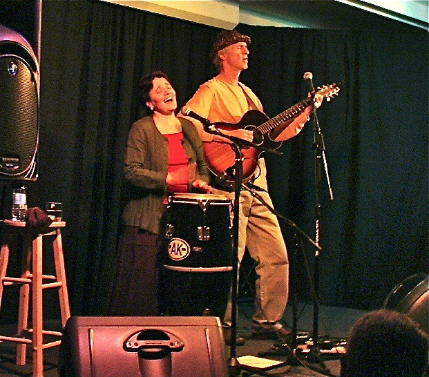 Karen Savoca and Pete Heitzman at the Little River Inn