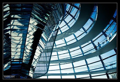 Reichstag Building, Berlin - בניין הרייכסטג, ברלין by SharonYanai.com