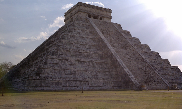 Temple of Kukulkan at Chichen Itza