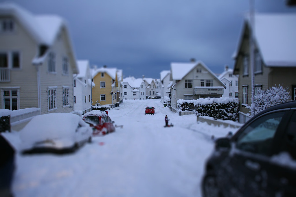 my street2-tiltshift