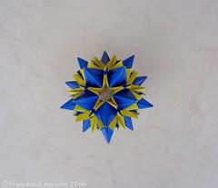 Interstellar? (mancinerie) Tags: origami modularorigami paperfolding francescomancini mancinerie