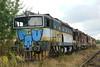 another goggle at Ceska Trebova depot (Karel1999 Over a Million views ,many thanks) Tags: vlak zug locomotives trains diesels ceska trebova