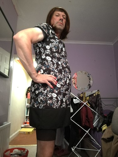 Trying my new dress from George hope you like it
