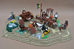9 Kingdoms Challenge: Cup of Kurvenheim (-Balbo-) Tags: lego moc brandküste herr der ringe hobbit rohan vikings creation bauwerk wikinger balbo
