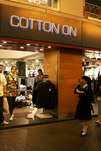 Cotton On store in Mongkok