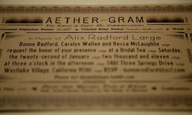 aether gram