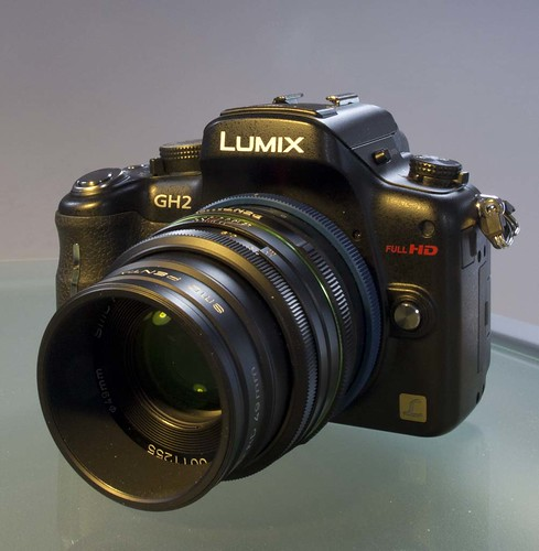 Panasonic GH2 Pentax 70mm f/2.4 limited lens Novoflex Pentax K m4/3 adapter