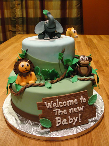 Baby Jungle Cake for Tiffany 1