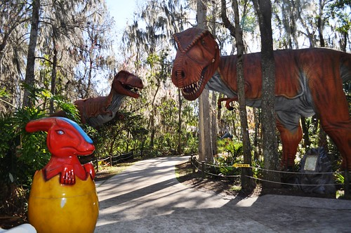 Dinosaur World, Plant City, Fla., Between Tampa & Orlando, I-4, Jan. 23, 2011