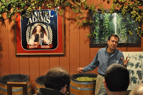 Jim Koch at Sam Adams Brewery