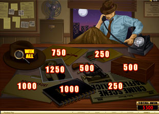 free Private Eye bonus game 2