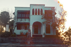 (yyellowbird) Tags: house abandoned girl lights florida cari fortpierce