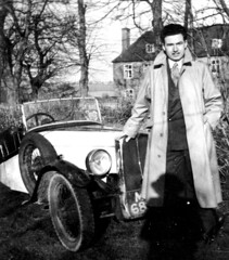 Dad with his first car